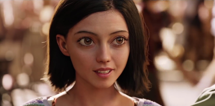 Rosa Salazar Debuts as a Cyborg in First 'Alita: Battle ...