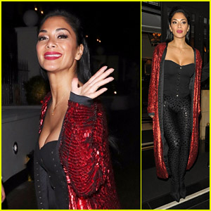 Nicole Scherzinger Flashes a Smile After 'X Factor UK' Finale in London!