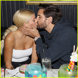 Scott Disick & Sofia Richie Kiss for the Cameras at Art Basel