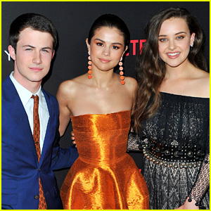 Selena Gomez & '13 Reasons Why' Cast React to Katherine Langford's Golden Globe Nomination