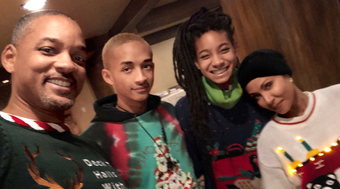 Will Smith Is Not Happy Jada Made Him Wear an \'Ugly Ass\' Christmas ...