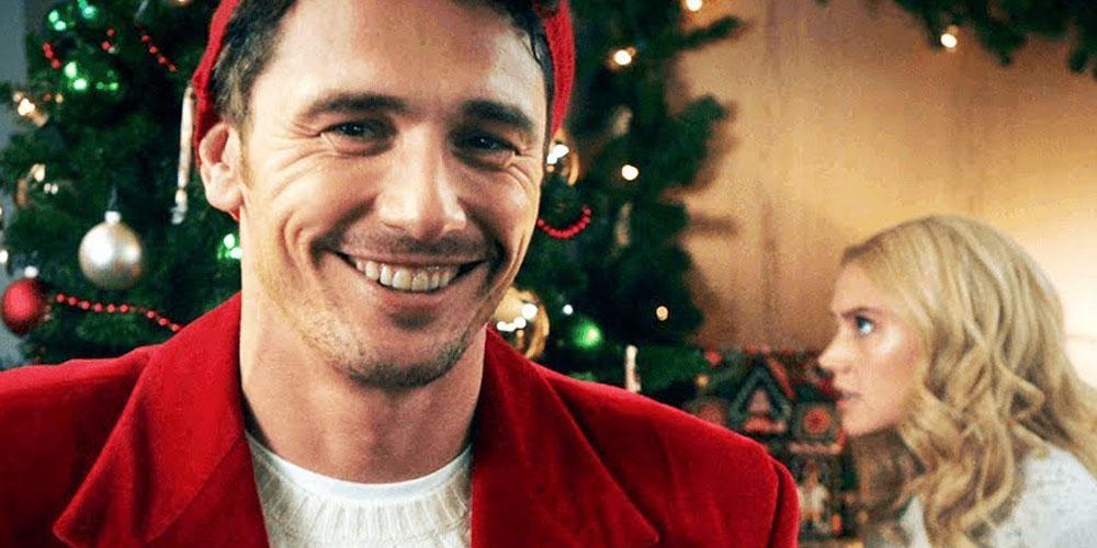 James Franco Hosting Snl >> James Franco Stars in 'Saturday Night Live' Hallmark Channel Christmas Parody Cut For Time ...