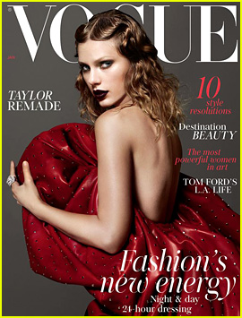 Taylor Swift Is Remade for 'British Vogue's January 2018 Cover