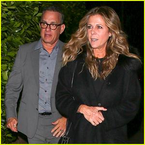 Tom Hanks & Rita Wilson Double Date With Bryan Cranston & Robin Dearden