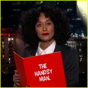 Tracee Ellis Ross Slams the 'Handsy' Men in Hollywood During 'Kimmel' Guest Host Gig