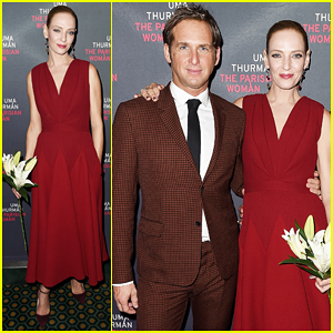 Uma Thurman & Josh Lucas Get Support from Debra Messing & More at 'The Parisian Woman' Opening Night!