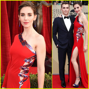 Alison Brie Addresses James Franco Allegations at SAG Awards 2018
