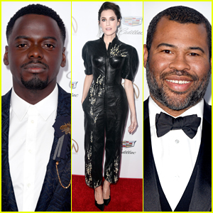 Allison Williams Joins Daniel Kaluuya & Jordan Peele at PGA Awards 2018