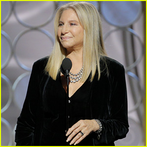 Barbra Streisand Says 'Time's Up' & Talks Gender Inequality While Presenting at Golden Globes 2018 - Watch Now!