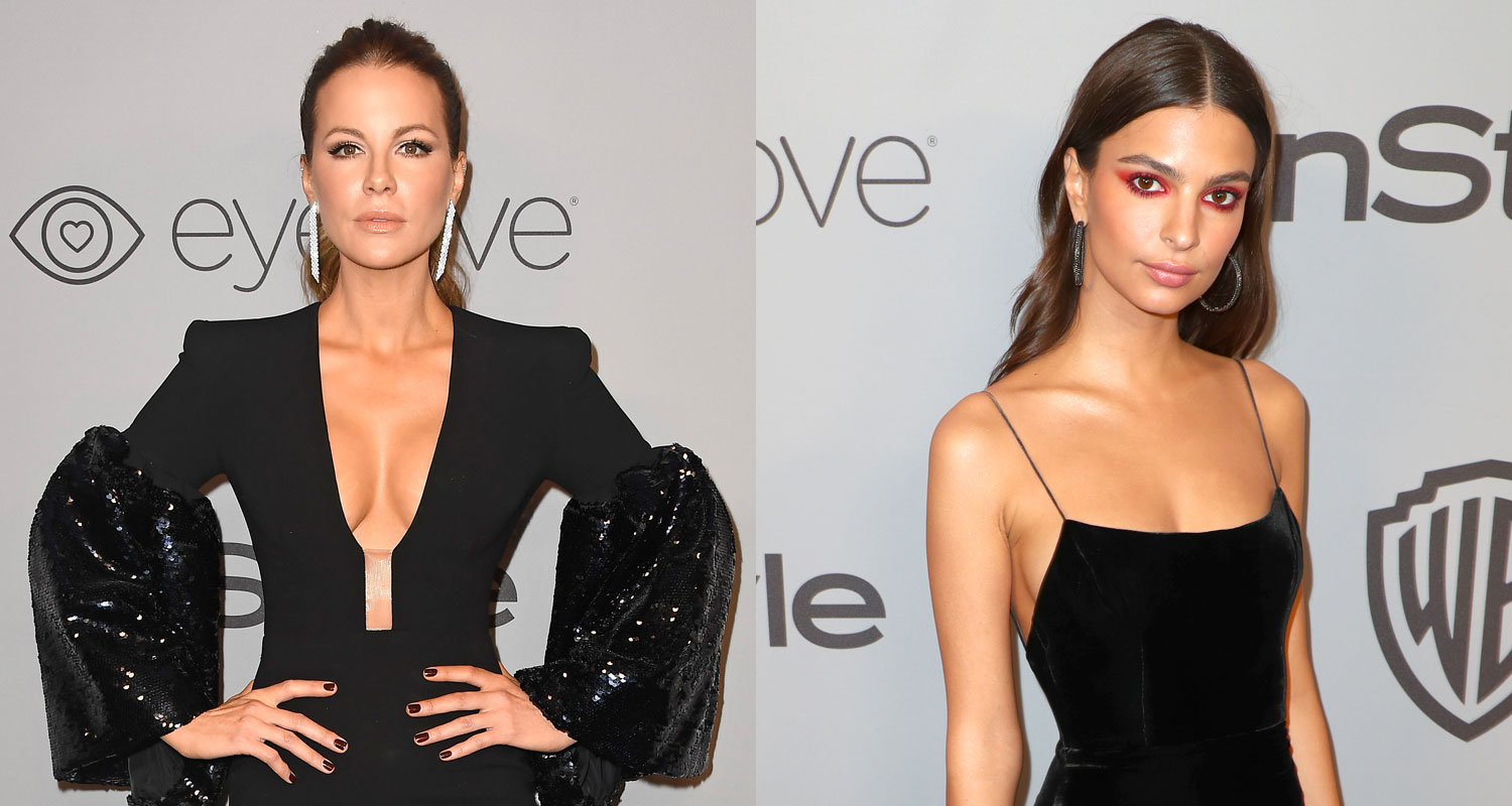 Kate Beckinsale Amp Emily Ratajkowski Turn Heads At Instyle