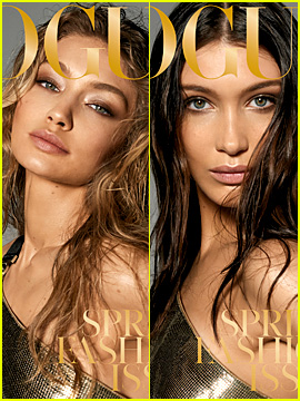 Gigi & Bella Hadid Stun on the Cover of 'British Vogue' March 2018!