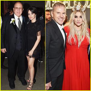 Camila Cabello & Kesha Celebrar Grammys 2018 a Sony Después de la Fiesta!