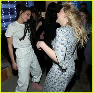 Chloe Moretz & Sasha Lane Dance It Out at Sundance 2018 Premiere Party!