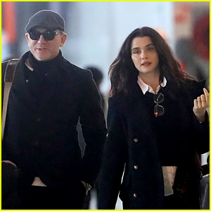 Daniel Craig & Wife Rachel Weisz Head Out of Paris!