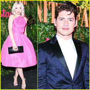 Dove Cameron & Gregg Sulkin Join the New Class of Stars at Vanity Fair's Pre-Globes Party!