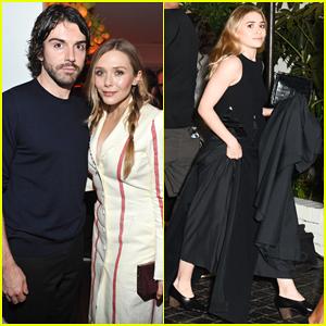 Elizabeth Olsen & Boyfriend Robbie Arnett Couple Up at W Magazine's Pre-Golden Globes Party!