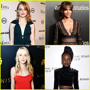 Emma Stone, Halle Berry, Dakota Fanning, & Lupita Nyong'o Join All-Female Presenters at SAG Awards 2018