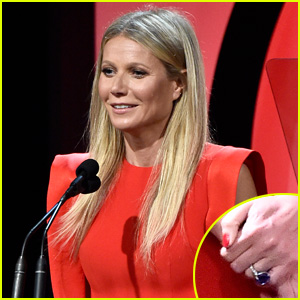 Gwyneth Paltrow Shows Off Stunning Engagement Ring at PGA Awards 2018
