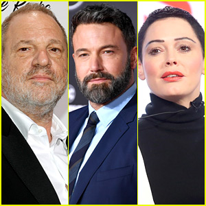 Harvey Weinstein Releases Ben Affleck's Email in Response to Rose McGowan Claims