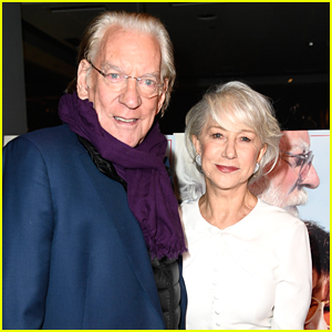 Helen Mirren & Donald Sutherland Couple Up for 'The Leisure Seeker' Premiere