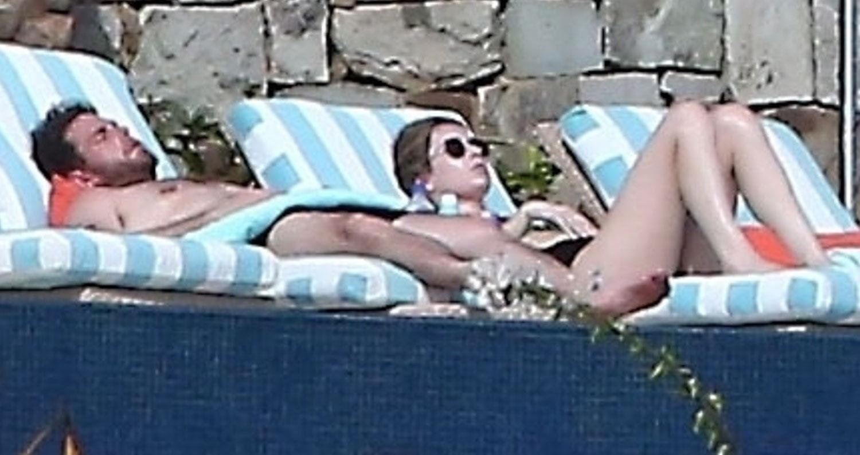 Shirtless Jonah Hill His Girlfriend Get Their Tan On In Cabo Bikini Erin Galpern Jonah