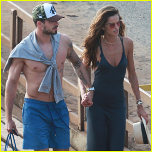 Izabel Goulart & Kevin Trapp Spend Their New Year's Day on Yacht in Brazil!