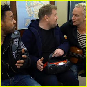 James Corden Leads Subway Karaoke During the Grammys 2018 - Watch Now!