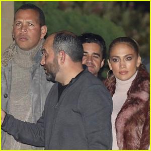 Jennifer Lopez & Alex Rodriguez Kick Off 2018 at Nobu Malibu!