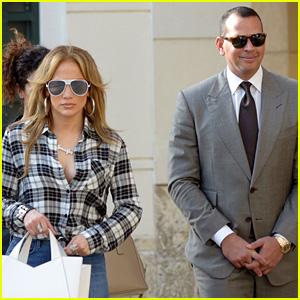 Jennifer Lopez & Alex Rodriguez Grab Lunch in Miami