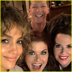 Jennifer Lopez Shares a First Look at Her 'Will & Grace' Return!