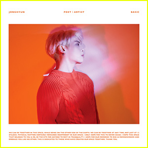 Jonghyun: 'Poet   Artist' Album Stream & Download - Listen Now!