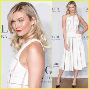 Karlie Kloss Goes Glam for Carolina Herrera's New Fragrance Launch Party