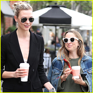Karlie Kloss Grabs Coffee with Jewelry Designer Jennifer Meyer in WeHo