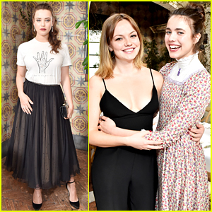 13 Reasons Why's Katherine Langford Joins More 'It Girls' at Pre-Globes Luncheon!
