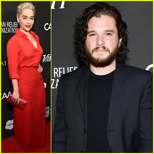 Kit Harington Attends Charity Event After Alleged Incident at Bar