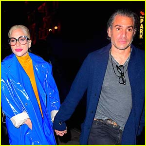 Lady Gaga & Boyfriend Christian Carino Step Out for Date Night in NYC