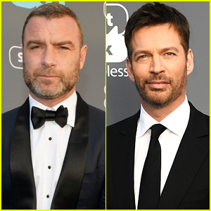 Liev Schreiber & Harry Connick Jr. Suit Up for Critics' Choice Awards 2018