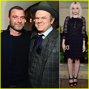 Liev Schreiber & John C. Reilly Celebrate 'Phantom Thread' With Vanity Fair in LA