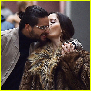 Maluma Packs on the PDA With Model Natalia Barulich in Italy!
