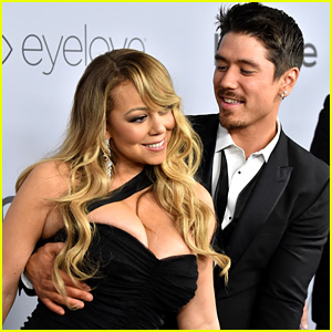 Mariah Carey Gets Flirty With Boyfriend Bryan Tanaka at InStyle's Golden Globes 2018 After-Party!