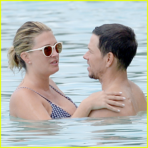 Mark Wahlberg & Wife Rhea Durham Pack on the PDA While on Vacation in Barbados!