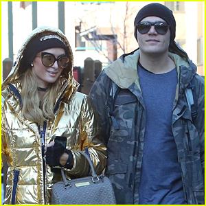 Paris Hilton & Chris Zylka Step Out in Aspen After Their Engagement