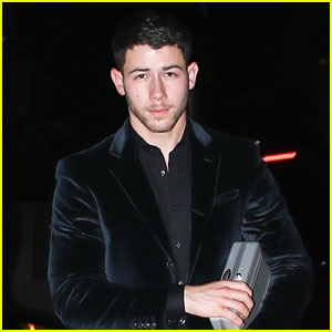 Nick Jonas Steps Out After Madeline Brewer Dinner Date