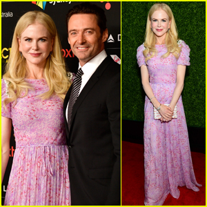 Nicole Kidman & Hugh Jackman Get Honored at AACTA International Awards