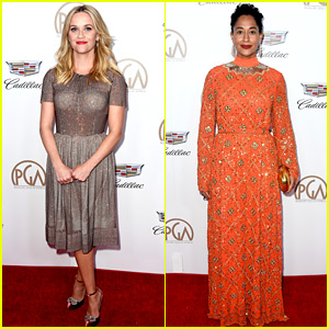Reese Witherspoon & Tracee Ellis Ross Celebrate the Producers at PGA Awards 2018