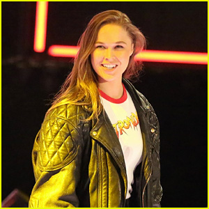 Ronda Rousey Officially Signs With WWE & Makes Surprise Appearance at Royal Rumble - Watch!