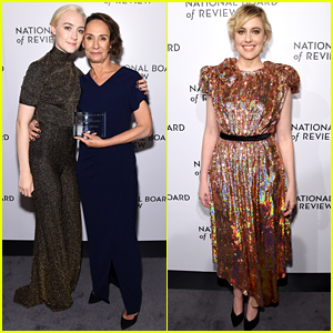 Lady Bird's Saoirse Ronan Honors Laurie Metcalf at NBR Awards 2018!