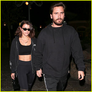 Scott Disick & Sofia Richie Coordinate Their Outfits for Date Night in LA