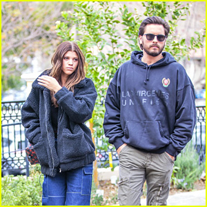 Sofia Richie & Scott Disick Head to a Sushi Lunch Date Together in Calabasas!