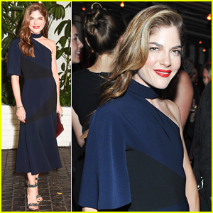 Selma Blair Flashes Kitten Underwear Ahead of W Mag's Pre-Golden Globes Party!